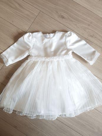 Sukienka do chrztu w rom.74 SZAFA KRASNALI