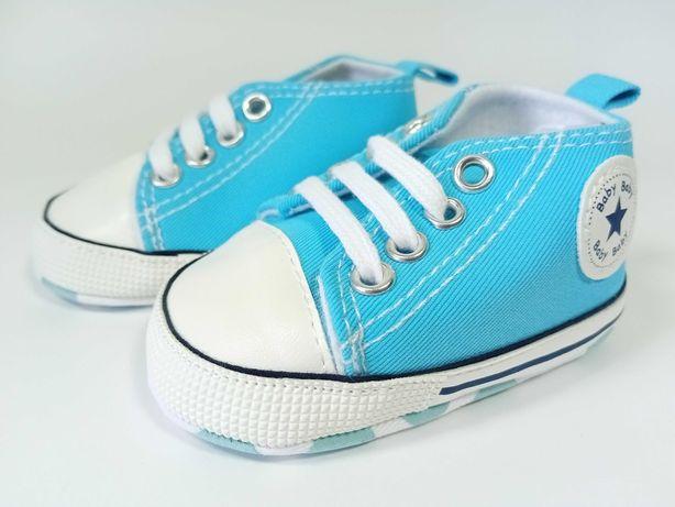Ténis bebé - tamanho 11 - azul claro
