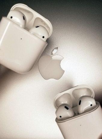АКЦИЯ! AirPods2 Apple оригинал магазин Aple наушники эппл аирподс 2
