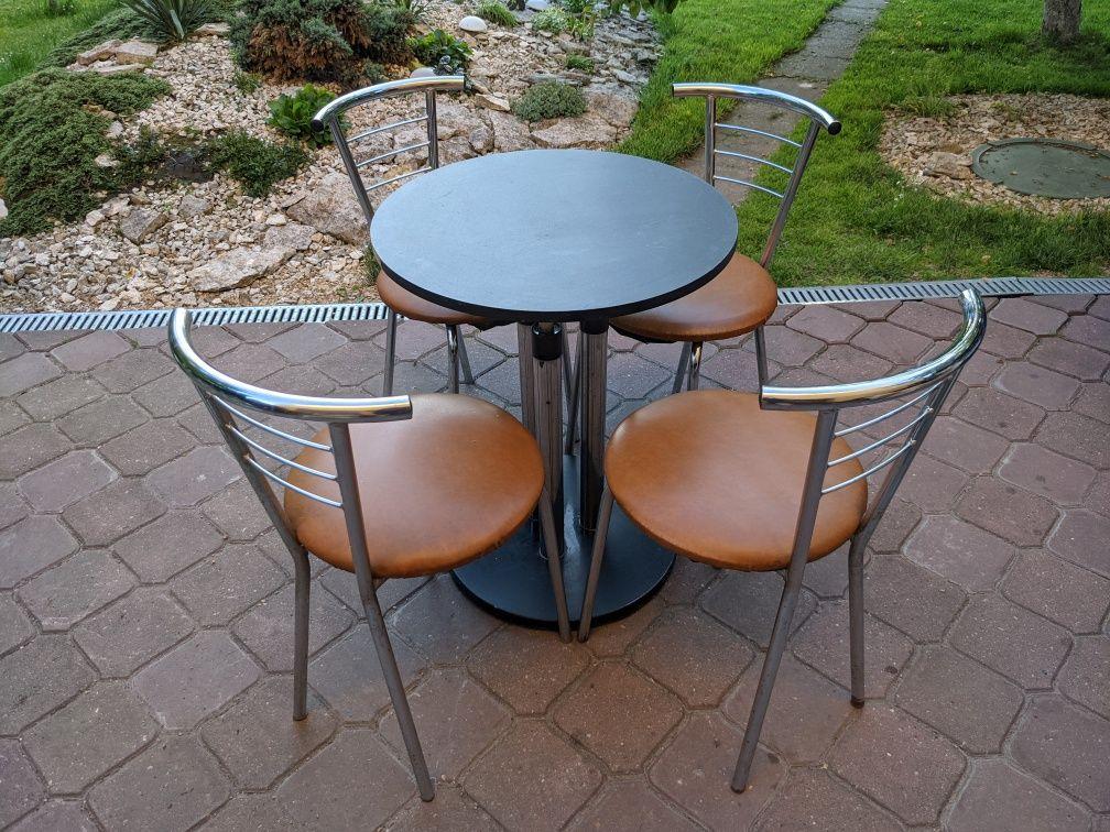 Krzesła barowe   stolik barowy   ZESTAW   komplet
