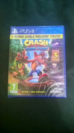 Crash N-Sane Trilogy. Resident Evil Sony Playstation 4