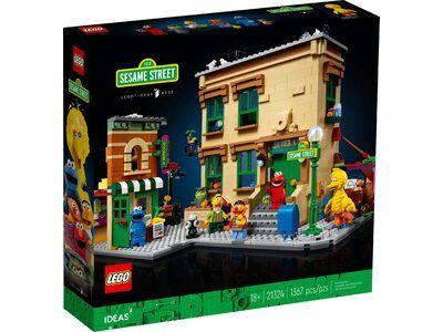 Lego Ideas 21324 Улица Сезам