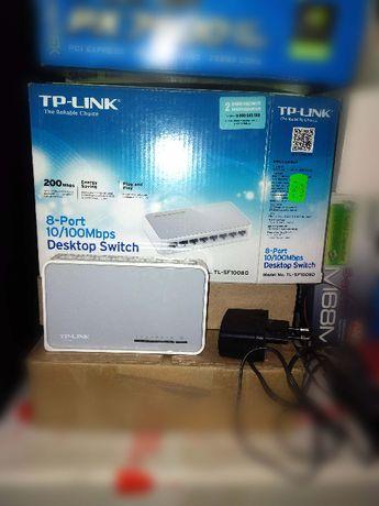 Tp-link sf1008d switch свич на 8 портов