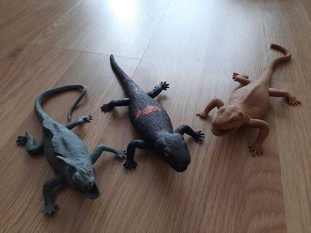 Ящерицы игрушечные резиновые