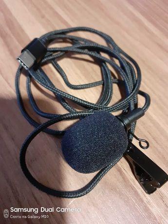 Микрофон петличный под type-c