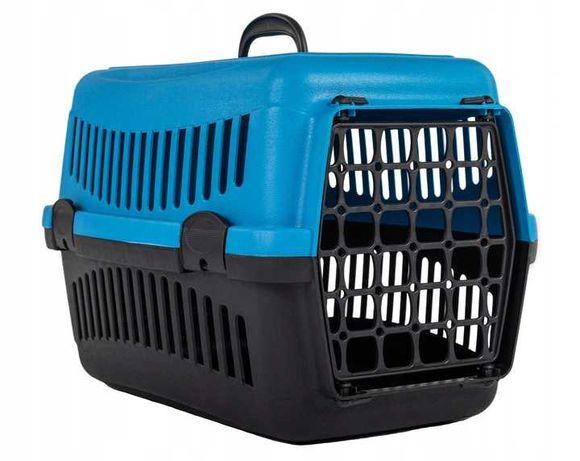 Transporter dla kota psa królika zwierząt niebieski NOWY