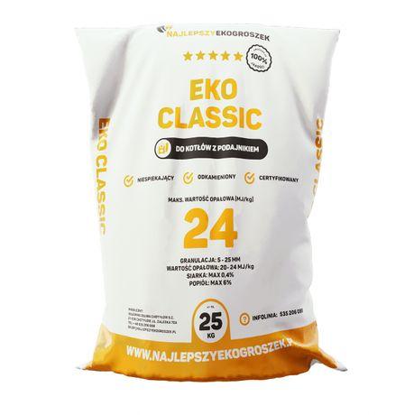 Najlepszy Ekogroszek Workowany 24MJ/kg - 1000kg