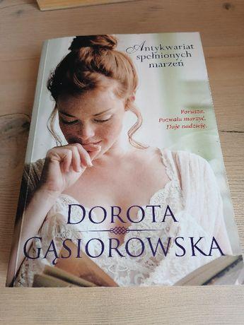 Dorota Gąsiorowska-Antykwariat Spełnionych Marzeń-romans