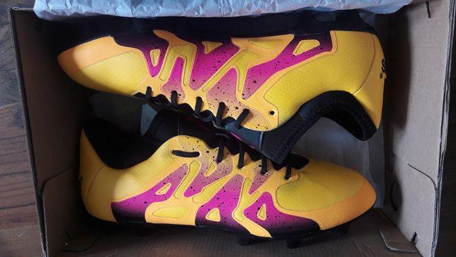 Korki Adidas X 15.1, buty piłkarskie, rozmiar 38 2/3