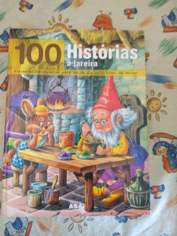 """""""100 histórias à lareira"""" - livro novo"""
