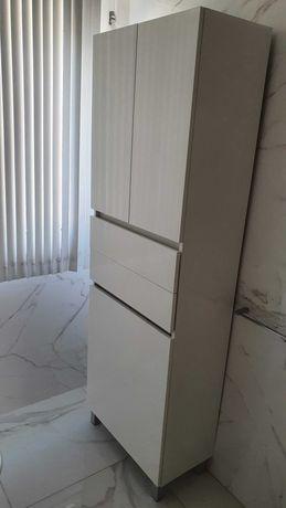 Móvel casa de banho coluna ZEUS BRANCO 60 (182X60X31.5 cm)