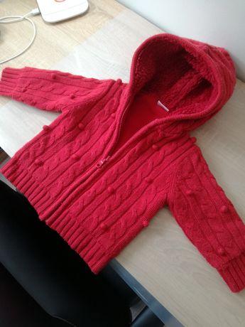 Sweterek ciepły rozm 86