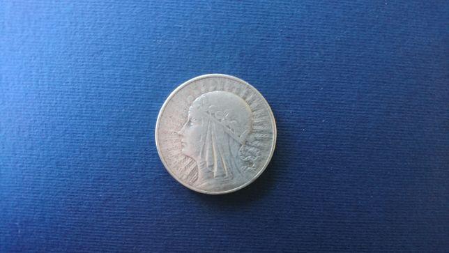 OKAZJA! Sprzedam srebrną monetę dziesięciozłotową - Polonia z 1933r.