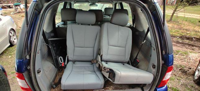 Mercedes w163 ml 3 rzad trzeci foteli siedzeń