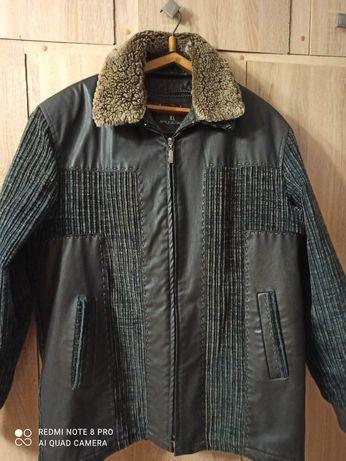 Куртка зимняя+ демисезон с подстежкой р.XL