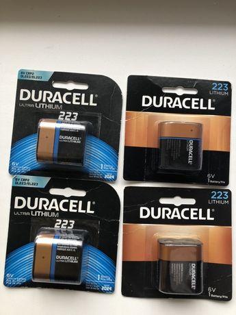 6V CRP2 duracell. DL223/EL223