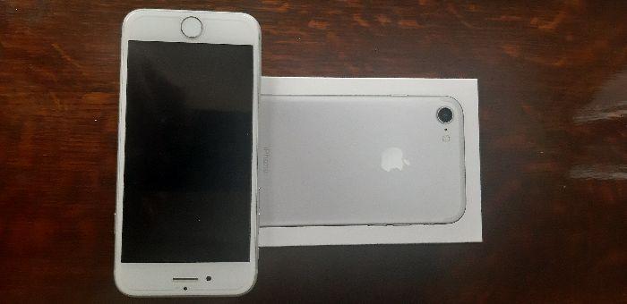 Sprzedam iphone 7 32GB, srebrny, używany Sobin - image 1