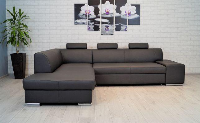 Narożnik 200x275cm 100% skóra naturalna rogówka sofa ze skóry skórzany