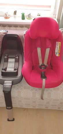 Fotelik Samochodowy Isofix Maxi Cosi + nosidelko