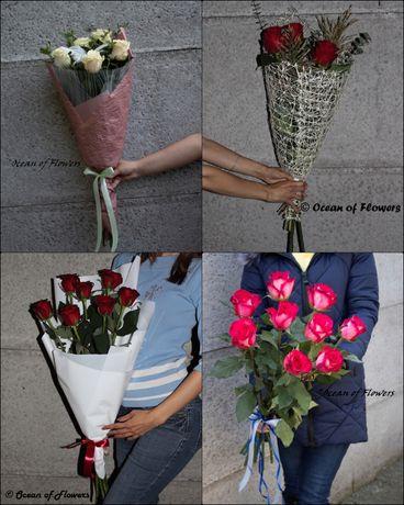 Букеты из роз на любой праздник