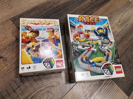gry planszowe na licencji LEGO Sun Block oraz Race 3000 KOMPLETNE