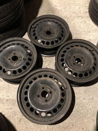 Felgi stalowe Opel 15 4x100 stalówki komplet