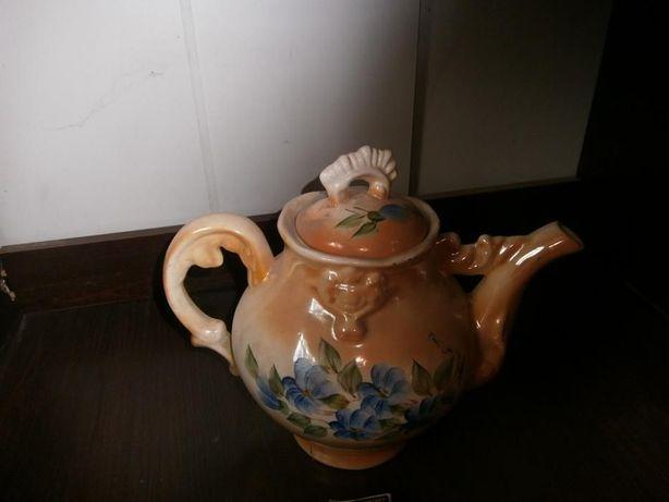 Большой фарфорный чайник 3.8 литра