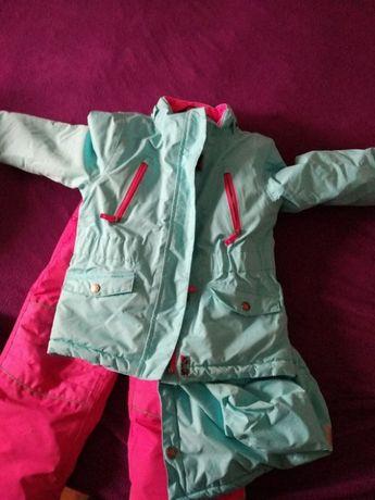 Tchibo kurtka + spodnie 98/104(regulowane szelki)