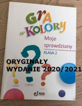 Gra w kolory moje sprawdziany JUKA klasa 1 2 3 wyd. 2020/2021
