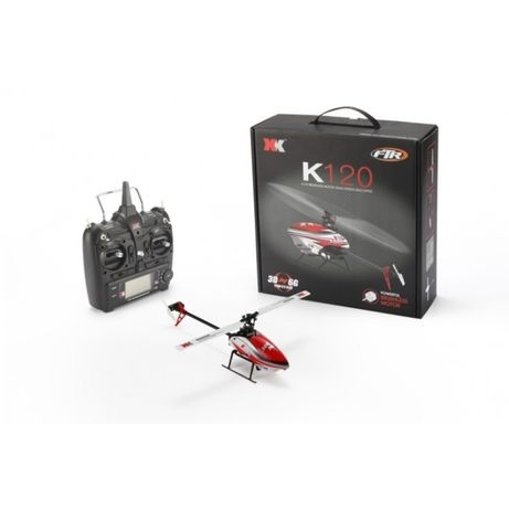 Helicopter XK K120 Blash 6CH Brushless 3D6G System RC RTF