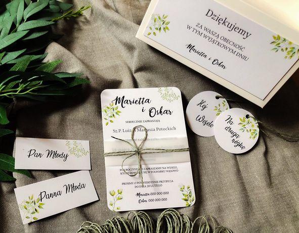 Zaproszenia ślubne i okazjonalne papeteria ślubna