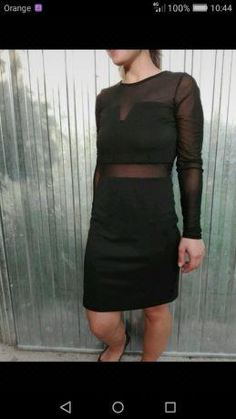 Szarna sukienka