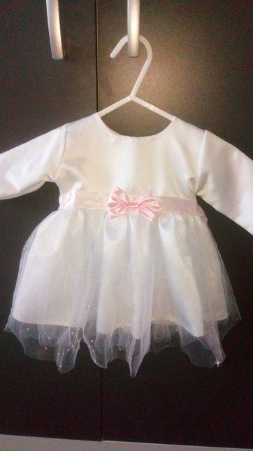 Sukienka do chrztu, rozmiar 62, jak nowa
