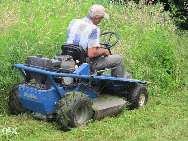 Wykaszanie nieużytków,koszenie trawy,karczowanie,Wisła,Ustroń,Brenna