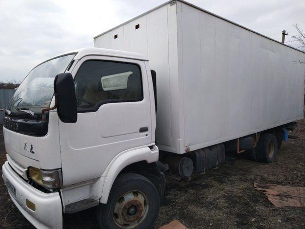 Yeujin NJ 1062 фургон 30куб кузов 6м гидроборт 1,5т/ ISUZU Газель FAW