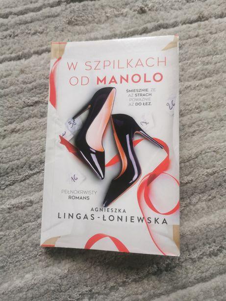 Książka Agnieszka lingas łoniewska w szpilkach od manolo kieszonkowa