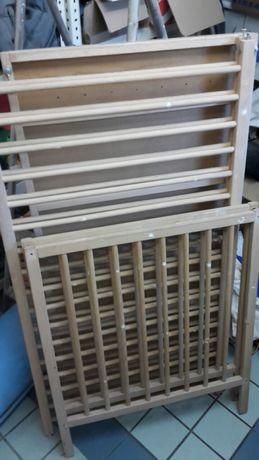 Łóżeczko dziecięce drewniane Ikea