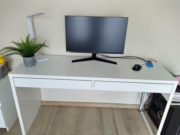 Ikea biurko Micke - białe