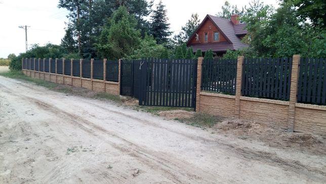 Montaż budowa sprzedaż ogrodzeń Ogrodzenia betonowe dekoracyjne siatki