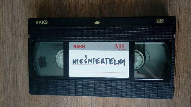 """Film """"Nieśmiertelny"""" kaseta VHS"""
