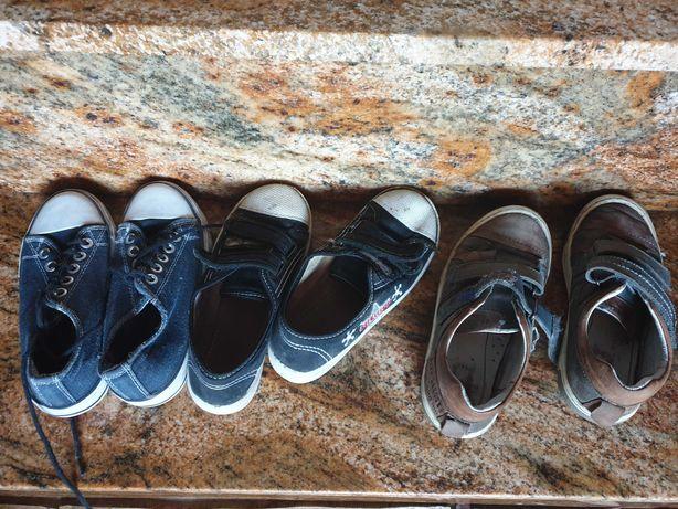 Kilka par butów chłopiec 28-29