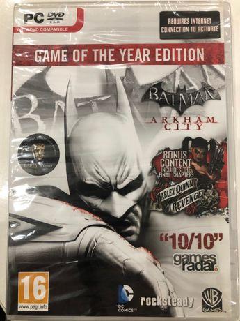 BATMAN ARKHAM City nowa PC + bonus