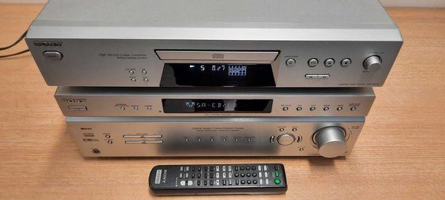 Sony - Amplificador 6.1 e leitor de cds