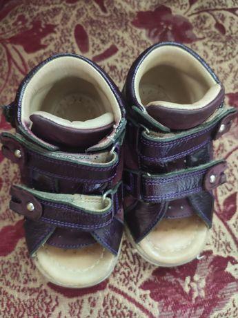 Ортопедические босоножки, ортопедичні босоніжки ,кожаные My Mini