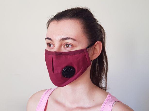 Maska antysmogowa przeciwsmogowa smog maseczka filtr bieganie rower