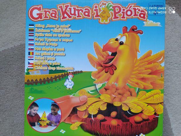 Gra zręcznościowa Kura i Pióra 4+