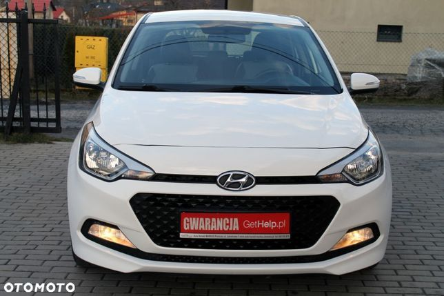 Hyundai I20 Gwarancja 12 Miesięcy Klimatyzacja Pełny Serwis Stan