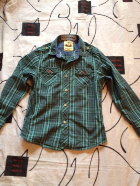 школьная рубашка/ рубашка для / на мальчика (134 см)