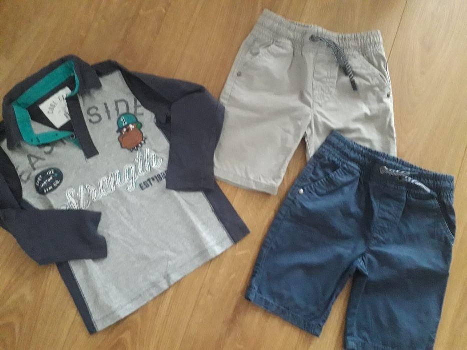 Zestaw 2x spodenki bluzka cool club f&f 110 4-5l Zalasewo - image 1