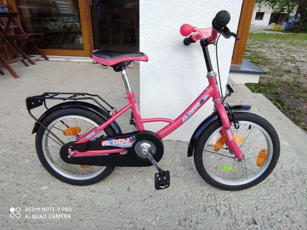 Rower dziecięcy niemiecki Kiddy 100X 16 cali. Stan b.dobry